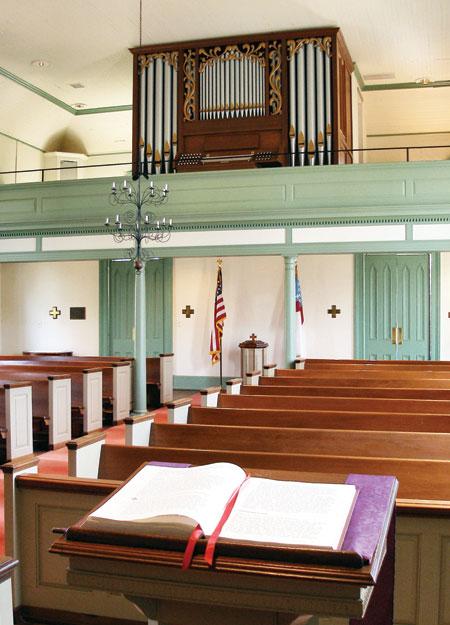 Episcopal Church of the Advent, Madison GA pipe organ