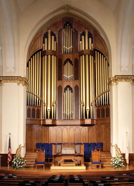 Atlanta FUMC pipe organ