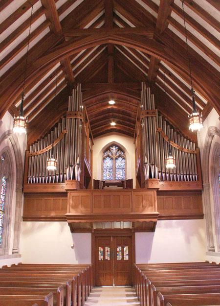 Covenant Presbyterian, Charlotte NC pipe organ
