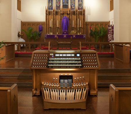 First Lutheran, Galveston TX pipe organ