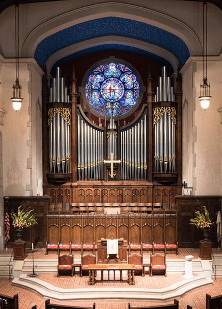 First Presbyterian Atlanta Georgia pipe organ