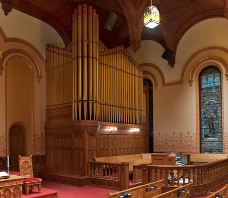 First Presbyterian, Galveston TX pipe organ