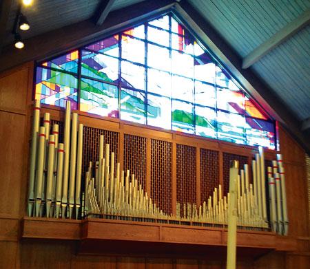 Good Shepherd Episcopal, Burke VA pipe organ