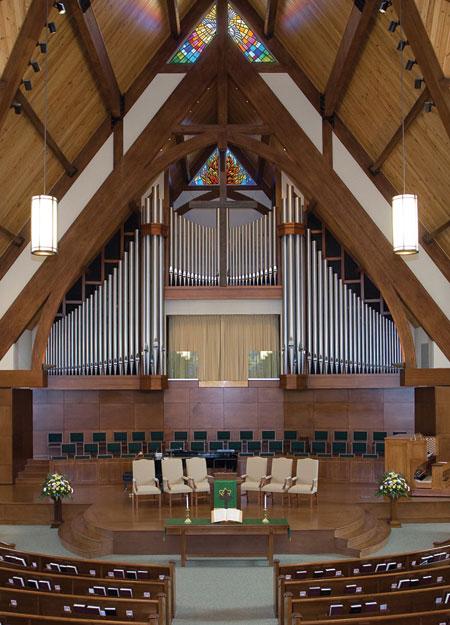 Hendricks Ave Baptist, Jacksonville FL pipe organ