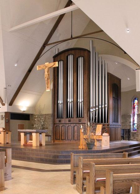 Immaculate Heart of Mary, Atlanta GA, pipe organ