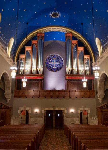 Kenrick Glennon Seminary pipe organ
