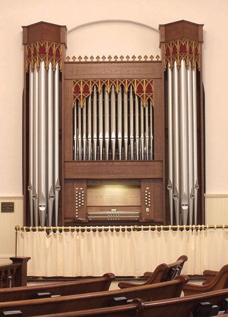 Lumpkin UMC organ