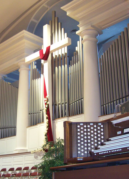 New Orleans Baptist Seminary facade