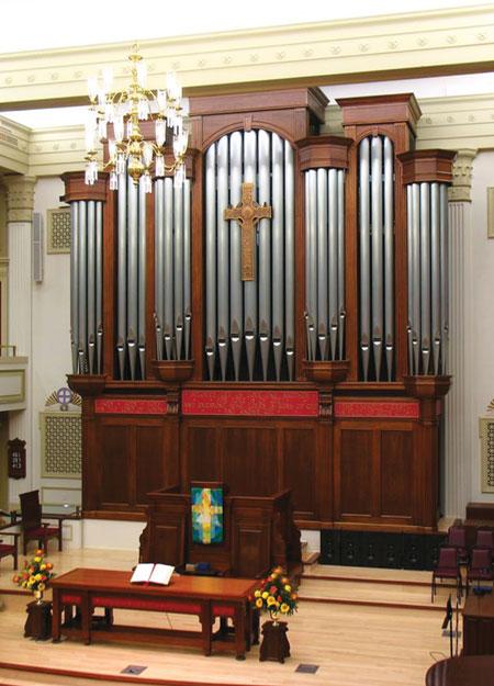 New York Ave Presbyterian pipe organ