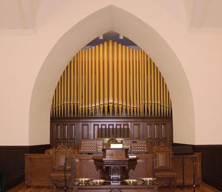 Newberry ARP, Newberry SC pipe organ