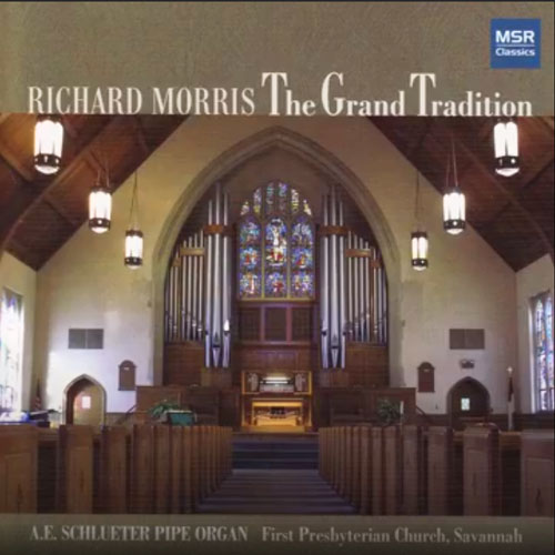 CD Cover image - Richard Morris, The Grand Traidition